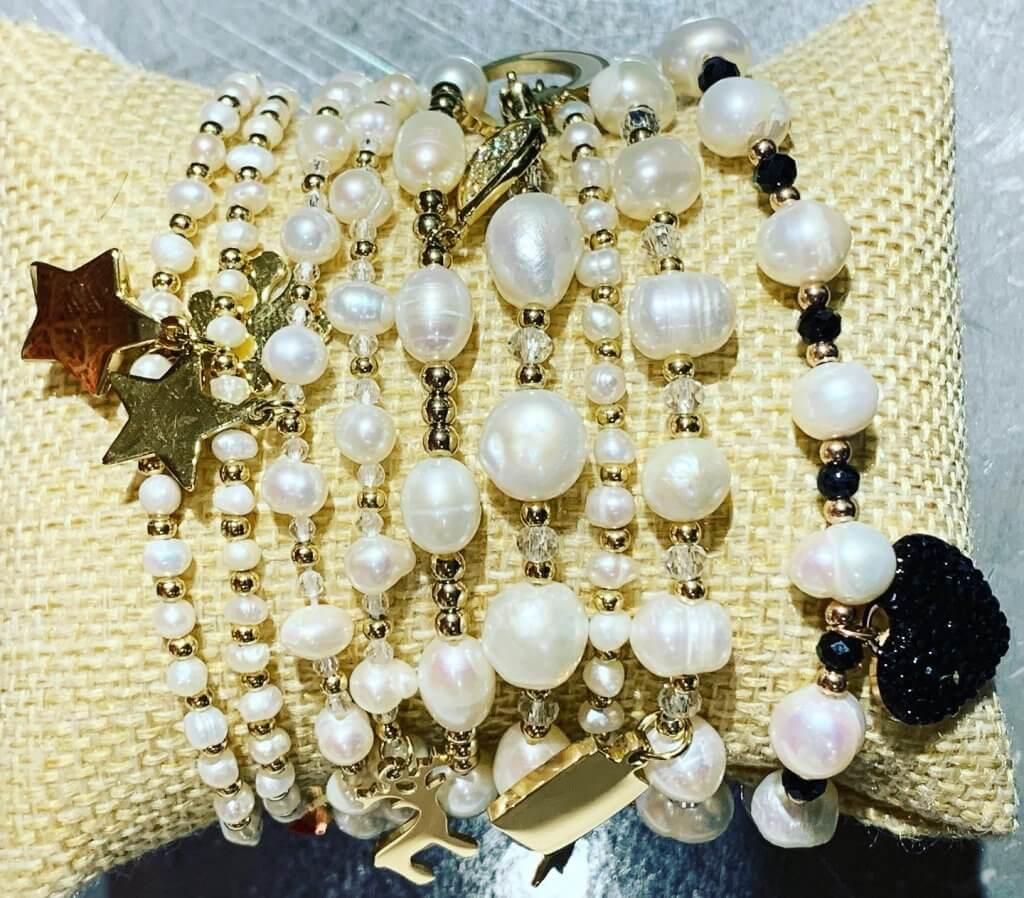 bracciali perle 2